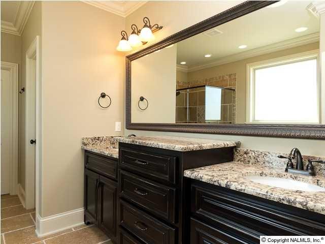 Raised vanities with drawers between   Bathroom   Pinterest