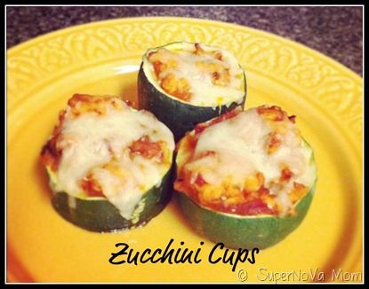 Zucchini cups | Recipes | Pinterest