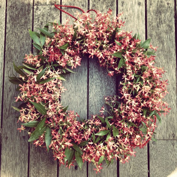 Australian christmas bush wreath aussie christmas for Australian christmas decoration