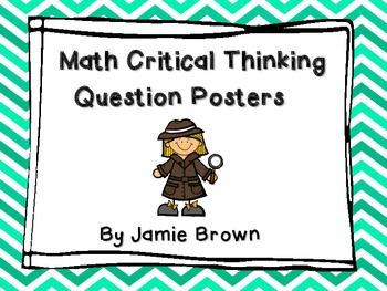 math for critical thinking