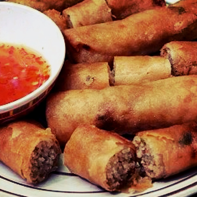 Vietnamese Fried Spring Rolls | That's clever! | Pinterest