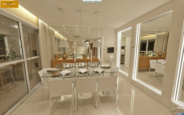Sala de Jantar (Espelhos)