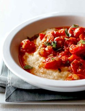 Recipe: Cherry Tomato Ragu with Polenta (crock pot) - Recipelink.com