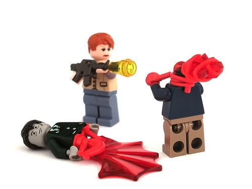 Zombie killing   LEGO coolness   Pinterest