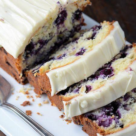 Blueberry Lime Cream Cheese Pound Cake   Sunday Brunch   Pinterest