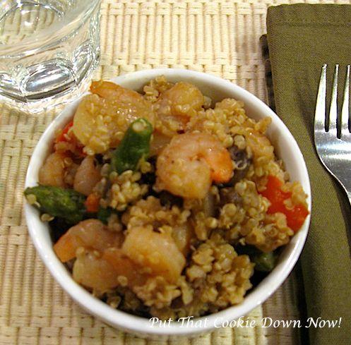 Shrimp Quinoa | Food | Pinterest