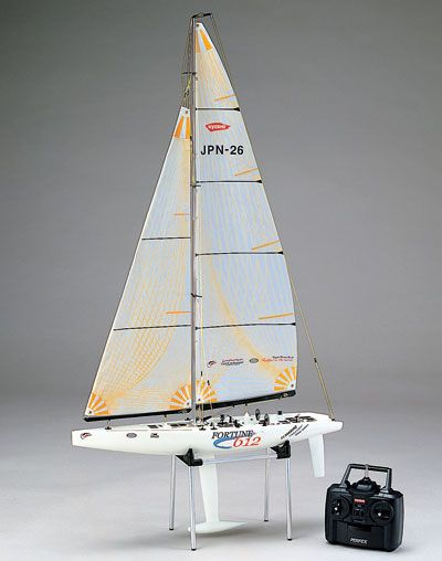 kyosho fortune 612 radio controlled sailboat