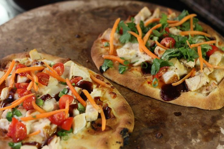 Flatbread thai chicken pizza | Food | Pinterest