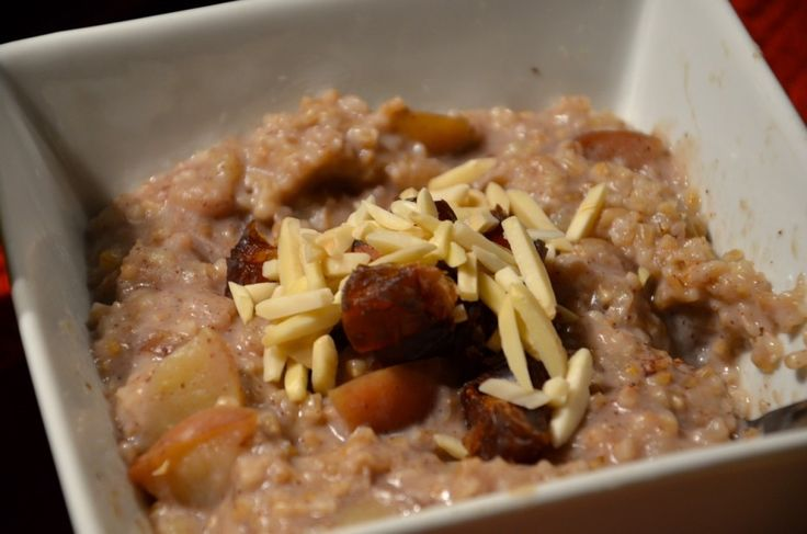 Baked Maple Coconut Steel-Cut Oats :: Serves: 4 An easy-to-make ...