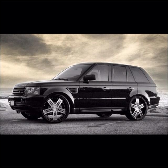 Black Range Rover Red Interior Vehicals Pinterest