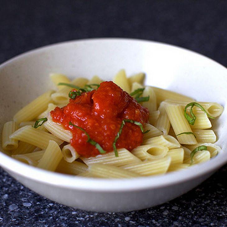 Fresh Tomato Sauce XXVI Recipe | FOOD & ALCOHOL & FITNESS | Pinterest