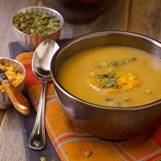 Butternut Squash Soup with Pumpkin Butter