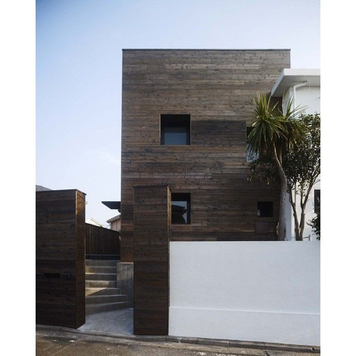 remodeling 101 shou sugi ban wood as siding and flooring by. Black Bedroom Furniture Sets. Home Design Ideas