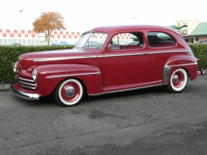 1948 ford 2 door sedan cars and trucks pinterest for 1948 ford 2 door sedan