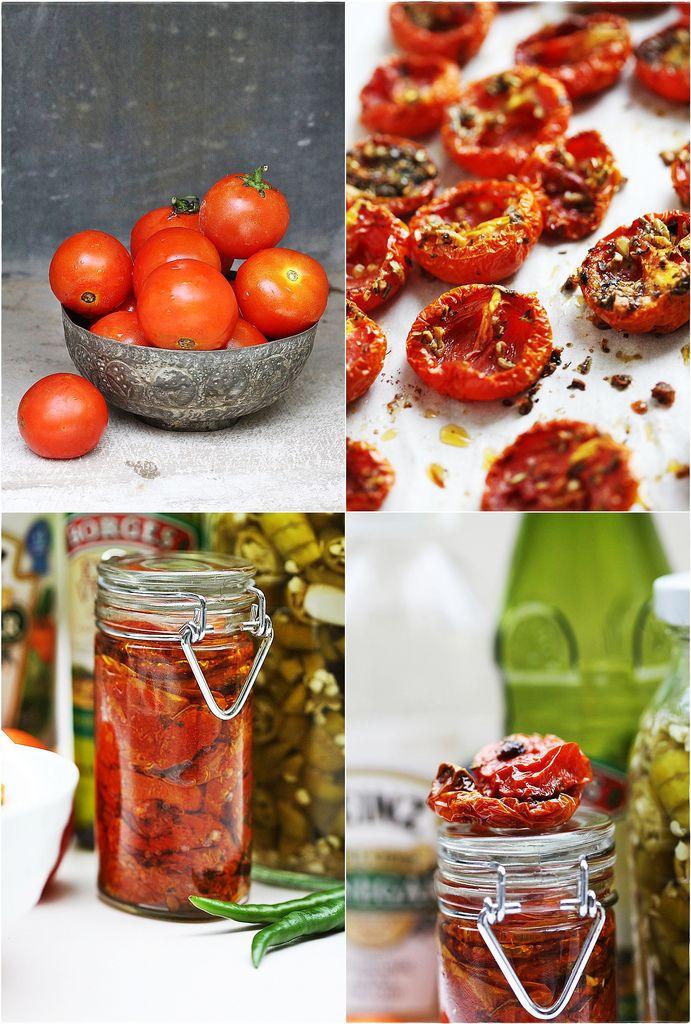 Slow Roasted Tomatoes | Gluten Free Recipes | Pinterest
