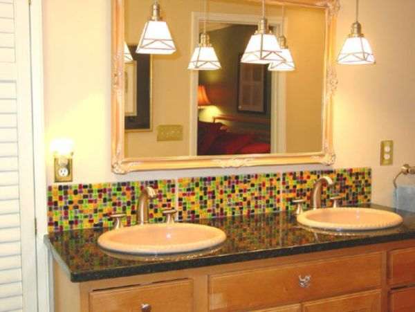 Bathroom backsplash google search bathroom ideas pinterest Bathroom designs with tile backsplashes