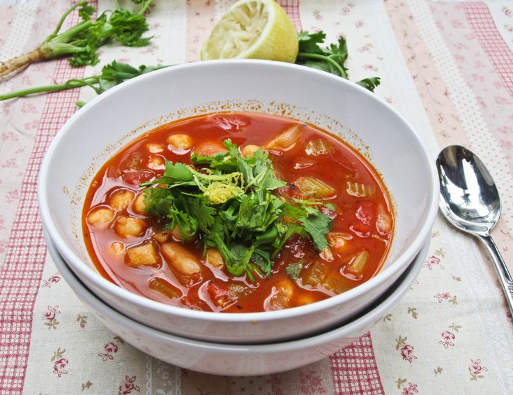 vegetable soup moroccan spiced cold tomato soup moroccan chickpea soup ...