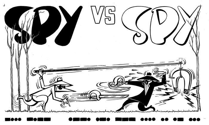 mobile spy vs spy cartoon