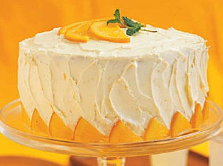 Orange Layer Cake | Recipe