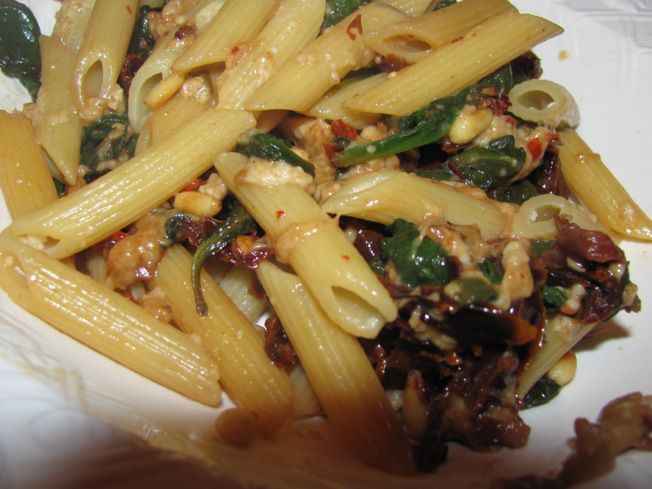 Spinach and Sun-Dried Tomato Pasta | Main course recipes | Pinterest