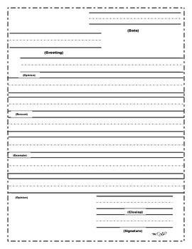 Formal letter format grade 6 spiritdancerdesigns Gallery