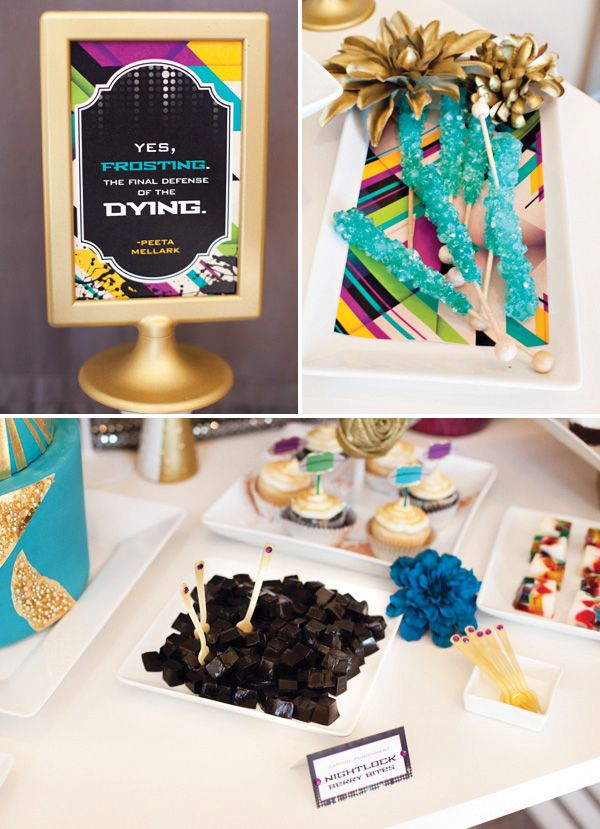 Hunger Games Capitol Inspired Party + FREE Printables