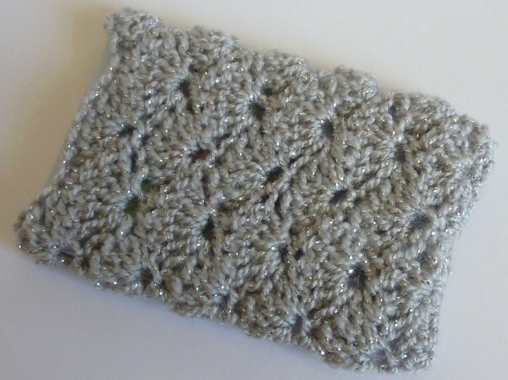 Crochet Stitch Keeper : Crochet Dynamite: Shell Stitch Business Card Holder