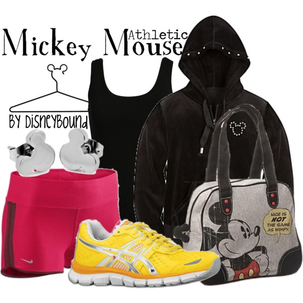"""Mickey Mouse"" by lalakay on Polyvore #disney"