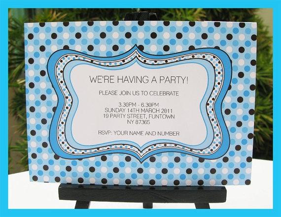 Baby Boy Invitation Ideas as amazing invitation ideas
