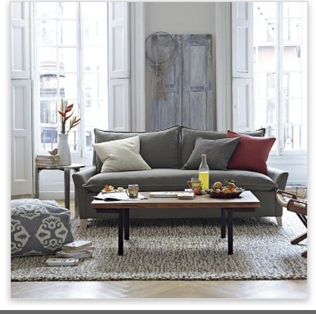 Pouf In Living Room House Equals Home Pinterest