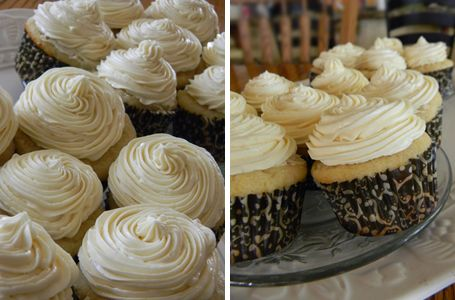 The Braumeister's Wife: Double Vanilla Cupcakes with Whipped ...