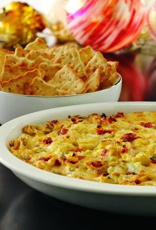 ... dip—a trendy new take on artichoke dip with sun-dried tomatoes and