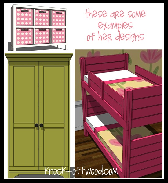 Homemade Furniture (knock off wood) | For the Home | Pinterest