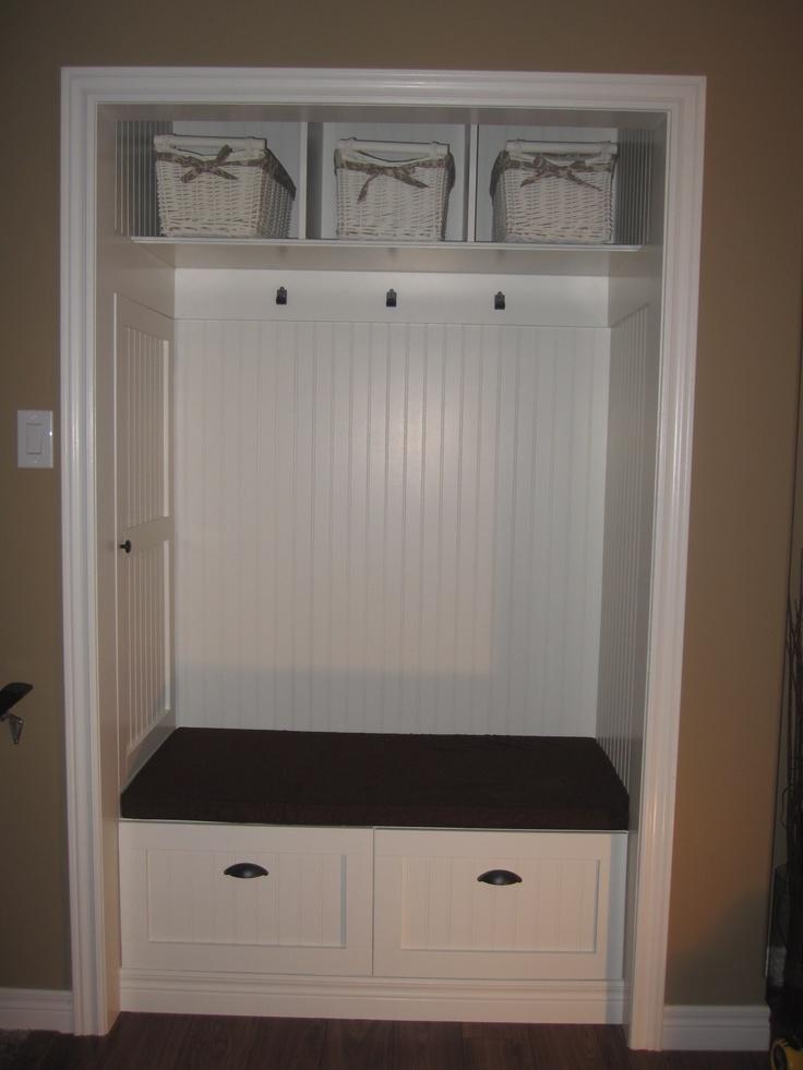 Front closet sitting area