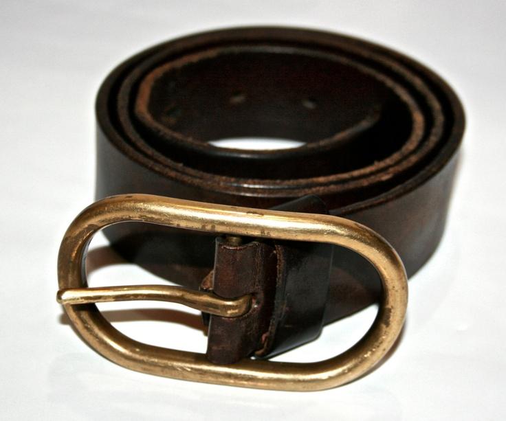 Vintage Banana Republic Mens Leather Belt Made by VintageMensGoods, $ ...