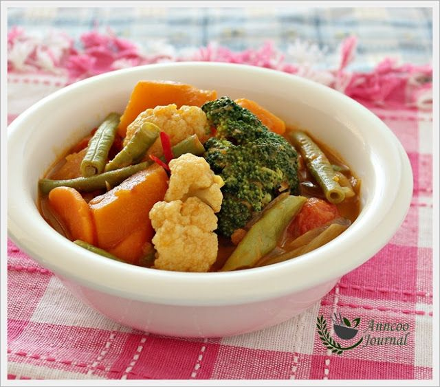 Simple Vegetable Curry | Side Dishes | Pinterest