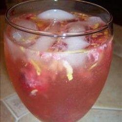 Raspberry Limoncello Sparkling Sangria | Food/Drinkies | Pinterest