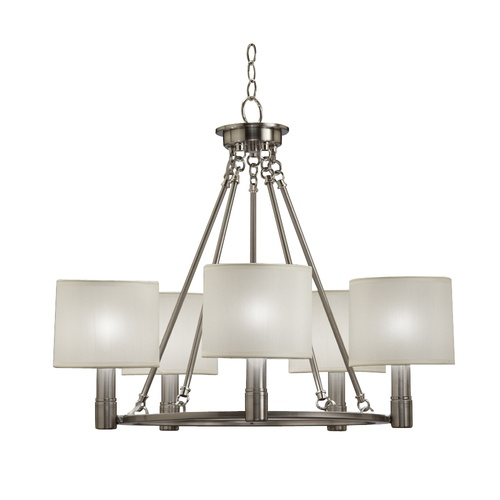 light brushed nickel chandelier lighting pinterest. Black Bedroom Furniture Sets. Home Design Ideas