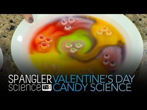 valentine science frozen vinegar hearts