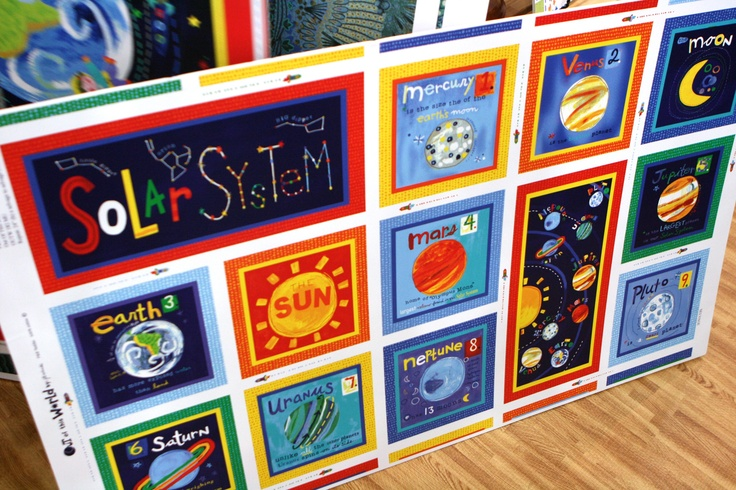 Space fabric decorate bedroom boys pinterest for Space boy fabric