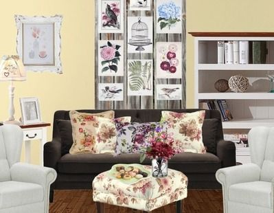 Wohnzimmer Vintage Chic For the Home Pinterest