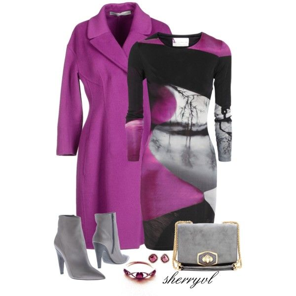 Wool Coat Contest, created by sherryvl on Polyvore