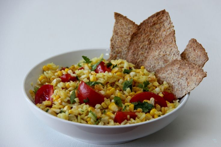 Roasted Corn Summer Salad great with @Food For Life sprouted tortillas ...