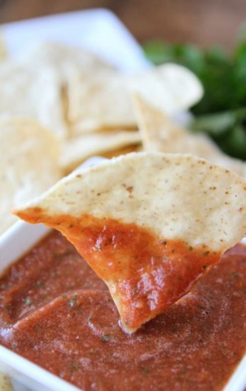 Restaurant Style Salsa [RECIPE] | Party Time | Pinterest