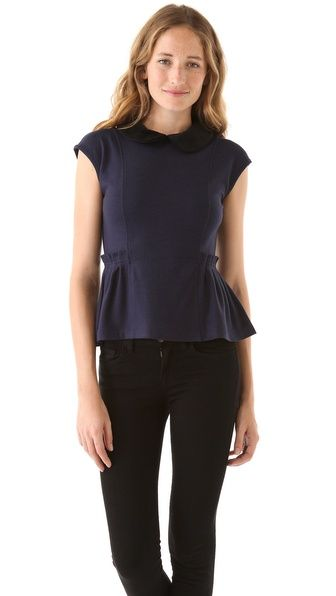 Marc by Marc Jacobs Wallis Wool Knit Top $175