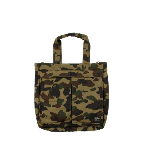 Bape x porter tote bag colette camouflage pinterest for Bape x porter backpack