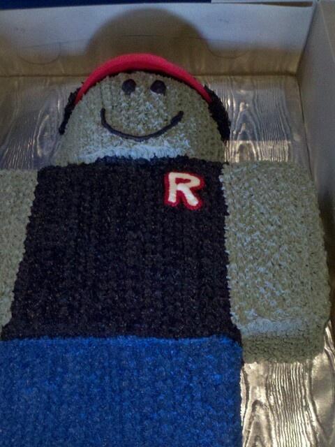 Conor S Roblox Cake For Conor Pinterest