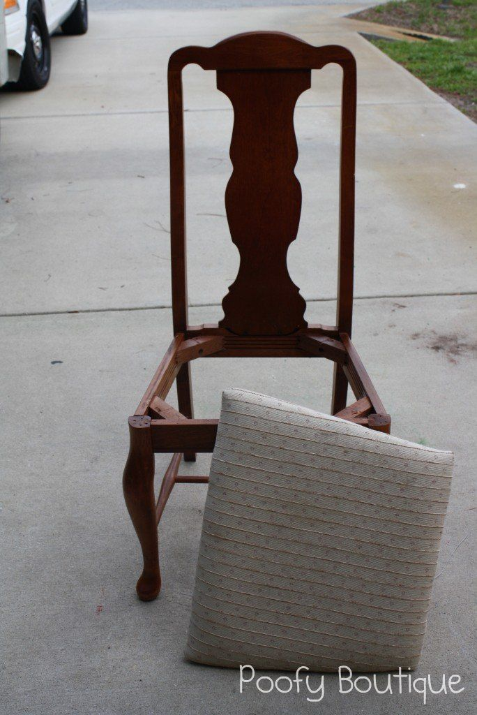 How to reupholster chair seats for How to reupholster a chair