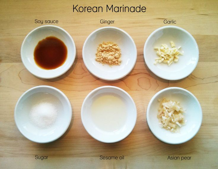 Korean Marinade #steak | Healthy Asian Food | Pinterest