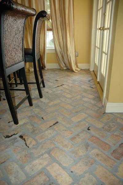 Old Chicago Antique Brick Floor Tile Real Estate Pinterest